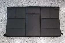 2011 BMW M3 CONVERTIBLE REAR SEAT BACK REST SET NOVILLO BLACK LEATHER 08-13 E93