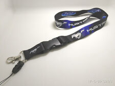 FORD MUSTANG Logo Horse Racing Muscle Lanyard Phone Holder Neck Strap Key Chain