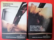 2 Guinness Savour The Experience Rectangle Coaster