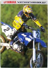 YAMAHA YZ Range - Motorcycle Sales Brochure - 1999 - #3MC-0107027-99E