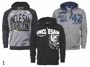 Uncle Sam Sweatjacke Hoodie L XL Sportjacke Kapuzenjacke Jacke Sweater