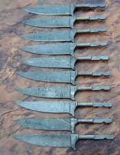 10XDamastmesser TRACHTEN Bayerischer klingen JAGDNICKER blank blades (10 stuck)