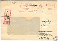 AFS, Einschreiben, Magistrat von Berlin Hauptstadt d. DDR, o Berlin, 102, 6.5.85
