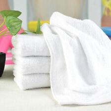 Hot New Cotton Hand Bath Towel Terry Cloth Gift Salon Spa Hotel Beach White 1 PC