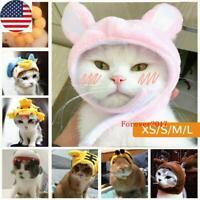 Cat Pet Dog Cute Animal Cap Hat Head Wear For Puppy Headband Fancy Costume