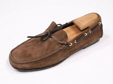 * TOM FORD *Light Brown Suede 'Crawford' Suede Leather Driving Loafers Shoes T 9