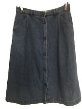 Gorgeous Seasalt Denim Skirt Size 12