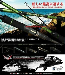 XZOGA ''SHORE GAME G-86MHF2'' Heavy Spinning Rod Sea Freshwater