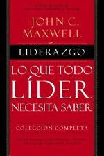 Liderazgo by John C Maxwell (author) #15334