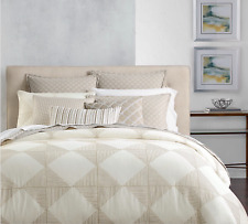 HOTEL COLLECTION DIAMOND EMBROIDERED KING DUVET