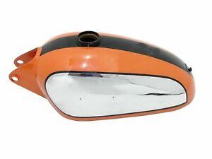 Ducati 350cc Scrambler Orange Black Chrome Plated Petrol Fuel Tank Guaranteed Ps