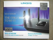 Sealed Box LINKSYS EA9300 AC4000 MAX-STREAM Smart WiFi TRI-BAND *MU-MIMO* Router