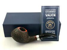 VAUEN Jahrespfeife 2019 rustiziert - pipe Pfeife 9mm Filter Made in Germany