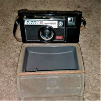 Vintage Kodak AG Instamatic 324 Camera with Leather Case with Strap~1966 Vintage