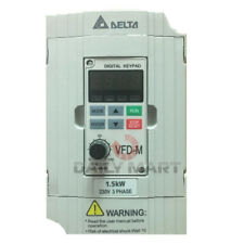 New In Box Delta Vfd015m23a Frequency Inverter Drive 3phase 220v 15kw 2hp
