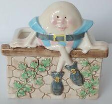 Vintage Humpty Dumpty Napco Ceramic Planter /Vintage Baby Nursery Decor 1960's