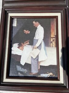"""1996 Norman Rockwell """"Freedom From Fear"""" Limited Edition #A 0261 Certificate"""