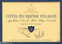 Etiquette de vin - COTES DU RHONE VILLAGES (172)