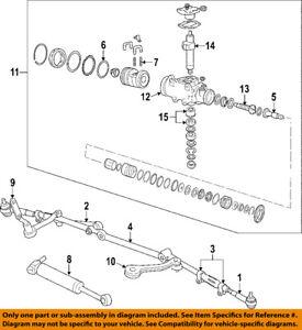GM OEM Steering Gear-Rack Seal Kit 7817487