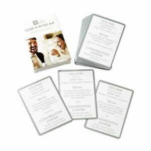 Wedding Trivia Card Game   Ice Breaker Decorations Table Fun Gift