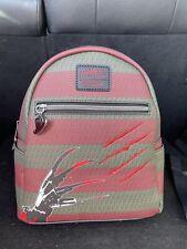 Loungefly Freddy Krueger Nightmare On Elm Street Mini Backpack