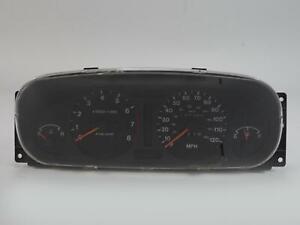 1998 - 1999 ISUZU RODEO 3.2L MT 6CYL SPEEDOMETER INSTRUMENT CLUSTER 177K MILES