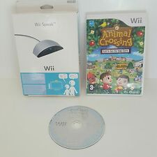 Animal Crossing Let's Go to the City Wii + Boxed Wii Speak = pets zoo simulation