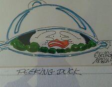 George moran peeking duck 1999 water color animation