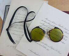 Antique Faux Tortoiseshell Pince Nez Spectacles, Eyeglasses c 1940's Oxford