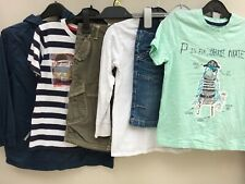 Boys Clothes Bundle 5-6 Years Peter Storm Next George Shorts Tops VGC