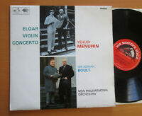 ALP 2259 Elgar Violin Concerto Yehudi Menuhin Sir Adrian Boult EXCELLENT Mono LP