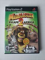 Madagascar Escape 2 Africa PS2 Sony PlayStation complete CIB fast Ship Tested
