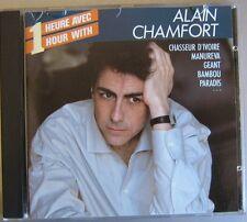 ALAIN CHAMFORT (CD) UNE HEURE AVEC ALAIN CHAMFORT    GAINSBOURG