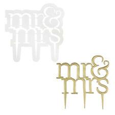 PME Sugarcraft Modern Mr. & Mrs. Cake Topper Gumpaste Cutter