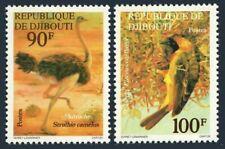 Djibouti 462-463,Mnh.Michel 199-200. Birds 1977:Ostrich,Weaver.