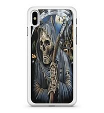 Spooky Grim Reaper Ready To Collect The Spirits Of The Dead 2D Phone Case Cover