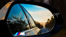 BMW M POWER WING MIRROR CAR VINYL DECALS-STICKERS M Series X3 4CM X 1CM A376