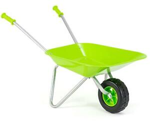 Green Wheelbarrow For Kids Children Gardening Tool Active Summer Toy For Kids