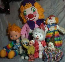 8 Haunted house prop doll halloween creepy clown horror outdoor display dolls