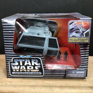 Micro Machines Star Wars Action Fleet DARTH VADER'S TIE FIGHTER New in Box Rare