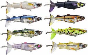 Chasebaits Drunken Mullet 95/130 Topwater Prop Lure Striper, Redfish & Bass Lure
