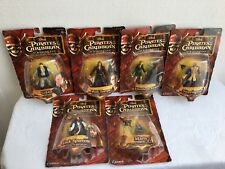 6 NIB Pirates of the Caribbean At World's End Figurines (804)