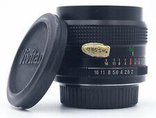 VIVITAR 28mm F/2 MANUAL FOCUS LENS FOR PENTAX-K CAMERAS FILM AND DIGITAL