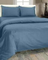King size fitted sheet 300 thread count 100% egyptian cotton. Blue