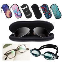 Ultra Light Portable Neoprene Zipper Sunglasses Reading Glasses Soft Case Pouch