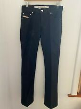 DIESEL BLACK 29 COTTON TROUSERS PANTS JEANS MADE IN ITALY