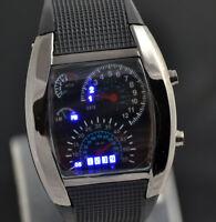 Asamo Uomo Donna Led Digitale Cinturino Orologio con Silicone Orologio da Polso