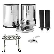 Royal Berkey Water Filter System w/ Berkey Stainless Steel Stand & Spigot