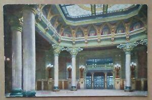 Old Postcard Genova Genoa Pallazo Della Borsa Italy Unposted