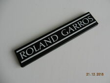 Peugeot 205 RG : monogramme de hayon ROLAND GARROS